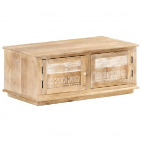 Table basse 90x49x37 cm Bois de manguier massif