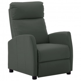 Fauteuil inclinable Gris Similicuir