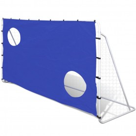 But de Football avec Cibles 240 x 92 x 150 cm