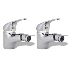 Robinets de bidet 2 pcs Chrome