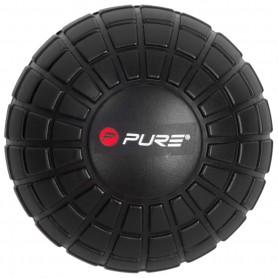 Pure2Improve Balle de massage 12,8 cm Noir