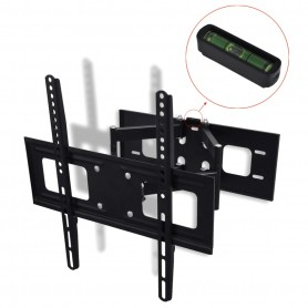 "Support TV à double bras pivotant 3D 400 x 400 mm 32"" - 55"""