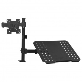 "Support de montage de moniteur d'ordinateur portable 13""-27"""
